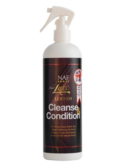 NAF Sheer Luxe, Leather cleanse & condition