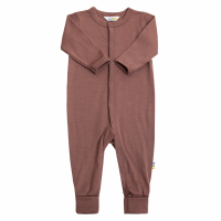 Burgunder Joha Merinoull Single Wool Jumpsuit