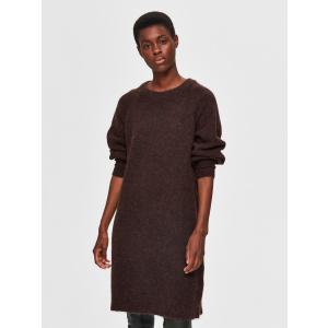 Kaya kjole brun