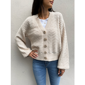 Betricia Knit Cardigan - Whisper Pink