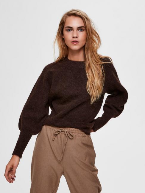 Sif Kaya genser brun