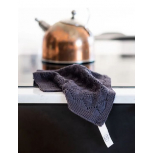Hazelnut vaskeklut - UND - Antrasitt