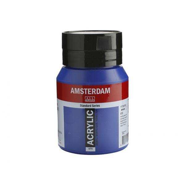 Amsterdam Standard 500ml – 570 Pthalo blue
