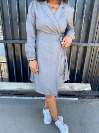 Marconia wrap dress
