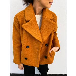Buckthorn Short Wool Jacket - Pumpkin Spice