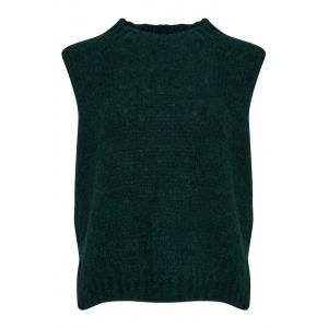 Kala Knit Vest Green