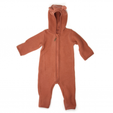 HUTTELIHUT - ALLIE WOOL FLEECE SUIT ROSEWOOD