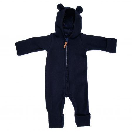 HUTTELIHUT - ALLIE WOOL FLEECE SUIT NAVY