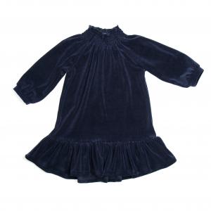 HUTTELIHUT - NOVA DRESS VELOUR NAVY