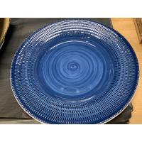 Middagstallerken Rice nattblå 28cm