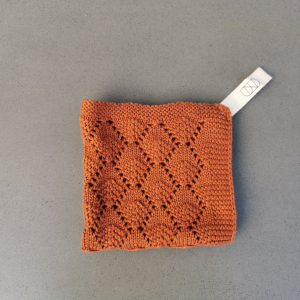 Hazelnut vaskeklut - UND - Rust