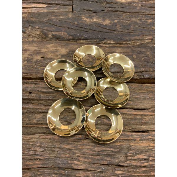 Lysmansjett gull metall pr.stk