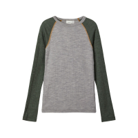 NKMWANG WOOL NEEDLE LS TOP XX