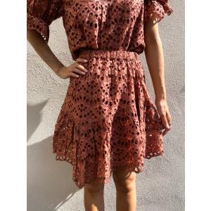 Valanta Skirt - Cedar Wood