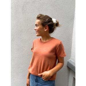 Shani O-Neck T-Shirt - Cedar Wood