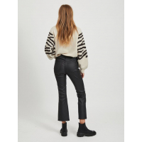 OBJBELLE COATED FLARED JEANS PB8