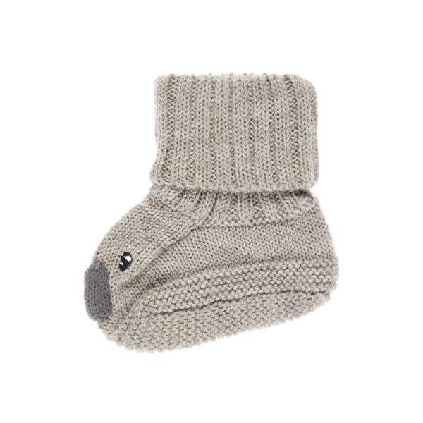 Wruni strikket ulltøfler baby