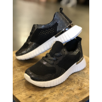IJH Tulip Black Sneakers 4075