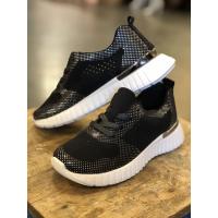 IJH Tulip Black Sneakers 4075