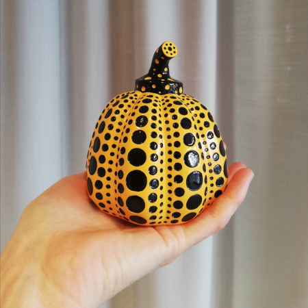 Kusama Pumpkin Objekt