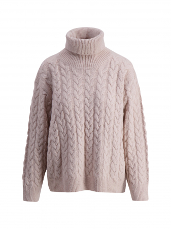 Frosted Cabel Knit