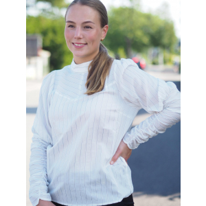 Dina Puff Stripe Shirt
