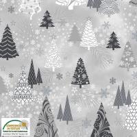 It's Snowflake grå trær