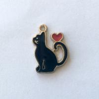Svart katte charms