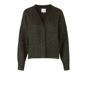 Brook Knit Boxy Cardigan Sea Turtle
