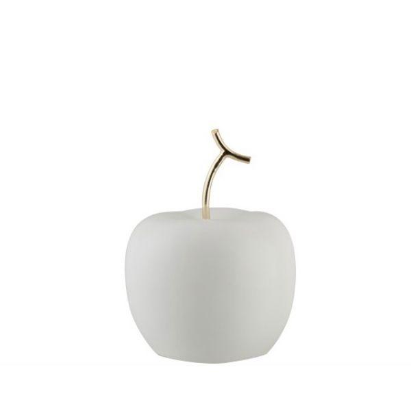 Eple i hvitt og gull, L