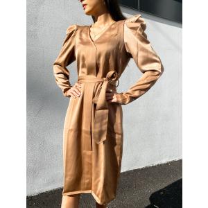 Cady Dress - Walnut