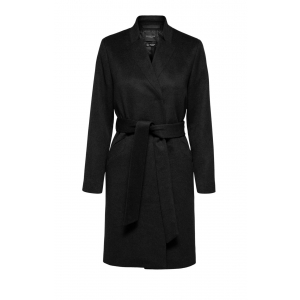 Mella Wool Coat - Black