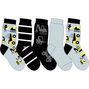 Wiges 5-pk sokker 25-34