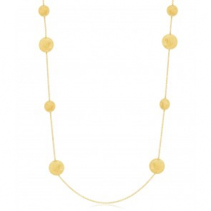 Devious Multidisc Lone Necklace Gold