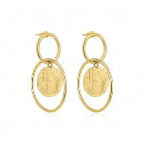 Devious Circle Earring Gold