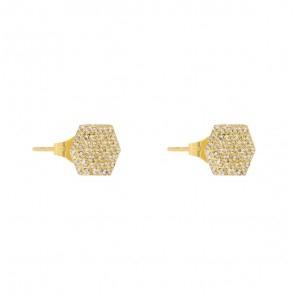 Rivet Spark Earring Gold