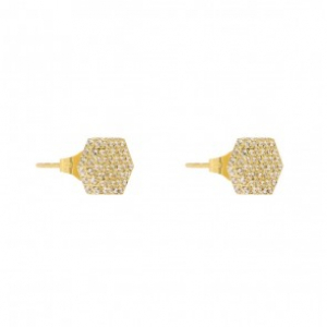 Rivet Spark Earring Gold