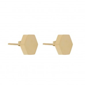 Rivet Earring Gold