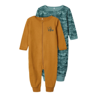 NOOS - NBMNIGHTSUIT 2P ZIP TRELLIS ANIMAL NOOS