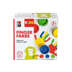 Marabu KIDS Finger Paint Set – 4x100ml