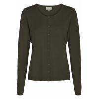 New Laura oliven cardigan
