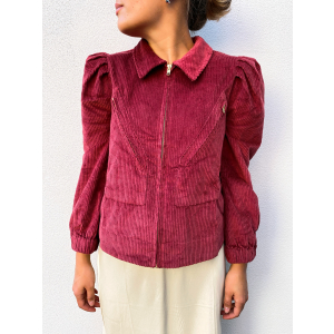 Corduroy Jacket - Red