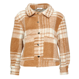 Viksa Short Jacket Camel Checks