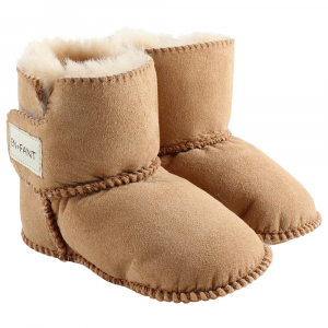EN FANT - SHEEPSKIN BOOTIES YELLOW
