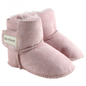 EN FANT - SHEEPSKIN BOOTIES OLD ROSE