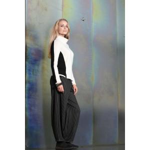 E Bukser - Stripete Sort/Hvit