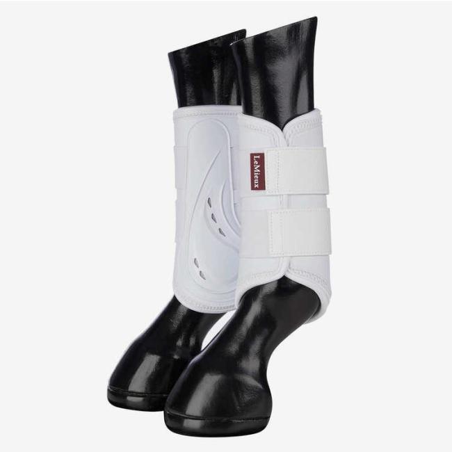 Lemieux ProShell Brushing Boots- Svart g hvit