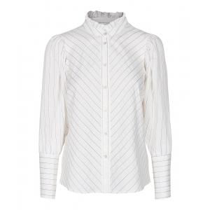Dina stripe shirt white