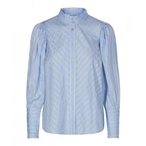 Dina stripe shirt blue