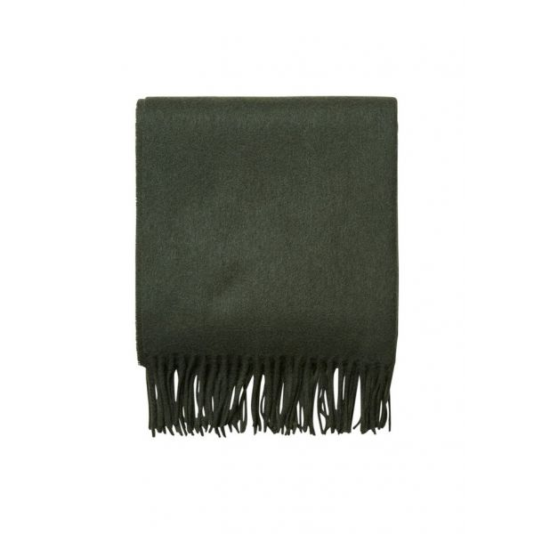 Time Wool Scarf Forest